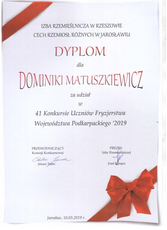 Kolejna fryzjerka z Kopernika wśród najlepszych w województwie_1