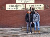 Nasi uczniowie na Ogólnopolskiej olimpiadzie